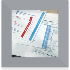 Project - Poll workers and election security. A stack of well designed materials