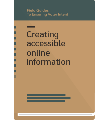 cover for printed field guide