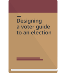 Cover - Designing a voter guide to an election