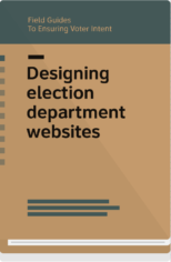 Field Guide 7 cover-designing election department websites