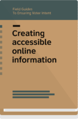 Field Guide 9 cover-creating accessible online information