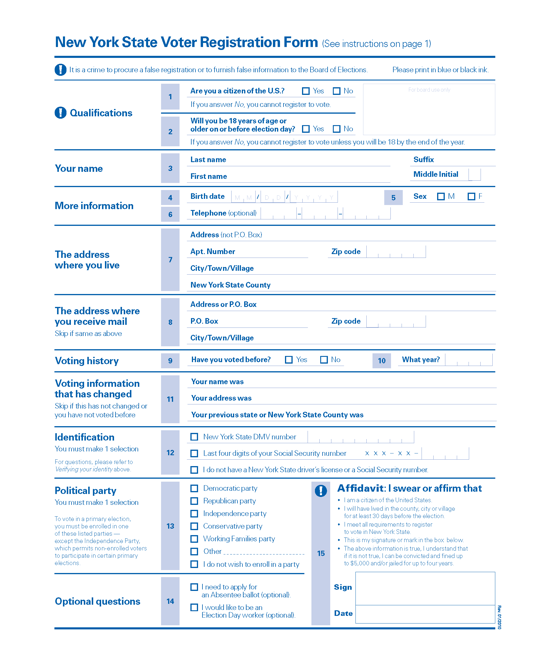 Voter registration forms in Pennsylvania (and others) - Center for ...